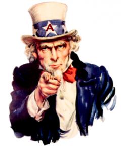 Uncle Sam Atheist